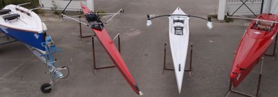 Different types of rowing boats