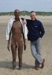 Anthony Gormley and me.