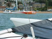 B&Q sponsor Ellen McArthur so she can sail this record breaking trimaran.  But you don't need a sponsor for a Magnum 21.