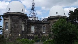 Bidston Observatory is no longer used as such and is occupied only for security reasons