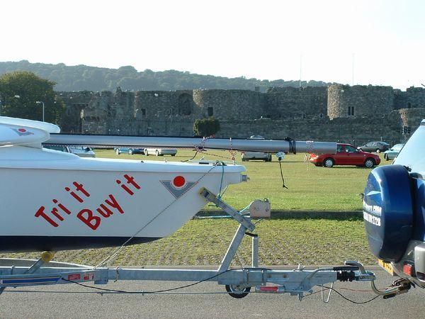 Beaumaris Castle, the ultimate, state of the art Norman castle was never finished because the King ran out of money.