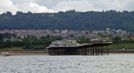 The pier at Colwyn Bay was apparently sold on Ebay.