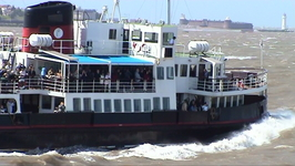 Ferry in the Mersey