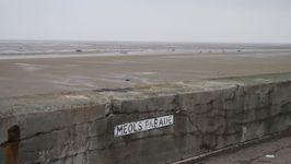 Moored boats at Meols, pronounced: Mells