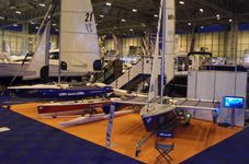 Ahoy-Boats stand at the National Boat, Caravan and Outdoor Show, 2009