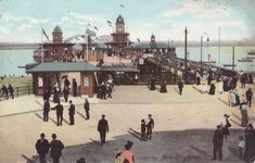 The New Brighton Pier as it was.