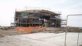 New Hoylake Lifeboat Sation under construction