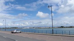 Pwllheli's inner harbour that dries out.