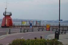 The Pier Buoy at New Brighton