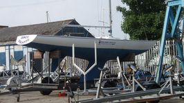 An Etchell at Royal Mersey Yacht Club