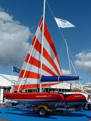 Magnum 21 on show at Southampton INternational Boat Show
