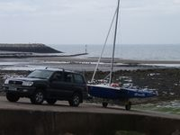 The ramp at Rhos-on-Sea.