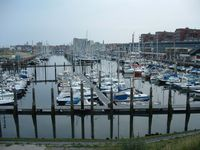 The vast yacht harbour at Scheveningen.