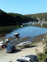 Solva Harbour the morning after. Ready to depart home.
