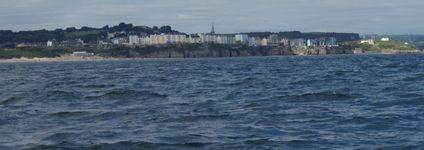 Tenby to port.
