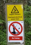 Danger of DEATH by fishing!