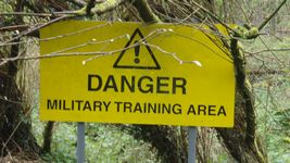 Why not advertise the back door to your army barracks?